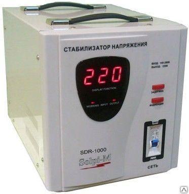 Стабилизатор напряжения SOLPI-M SDR 1000 ВА