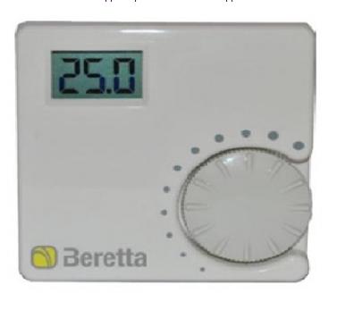 Регулятор комнатной температуры с ЖК-дисплеем